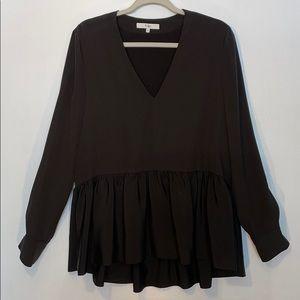 Tibi 100% silk blouse / tunic